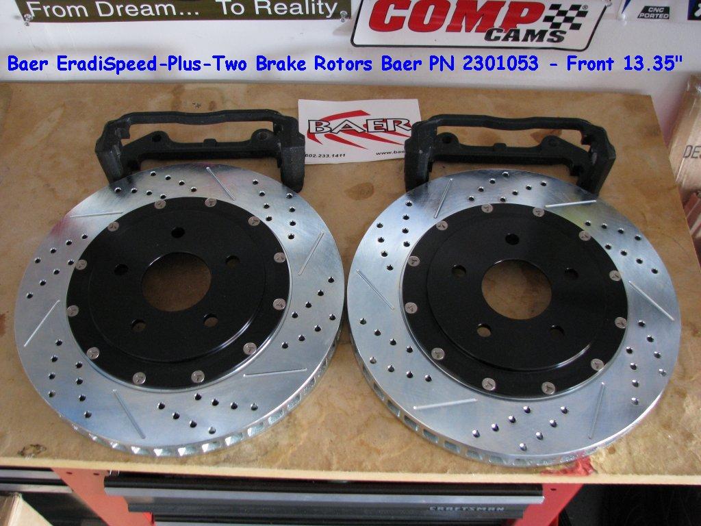 Baer rotors for sale